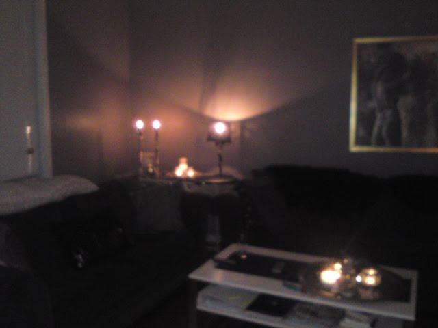 Vimsaforvirra: ene delen av stuen:)