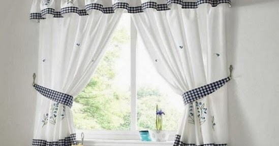 C mo elegir cortinas para la cocina ideas para decorar dise ar y mejorar tu casa - Como elegir cortinas ...