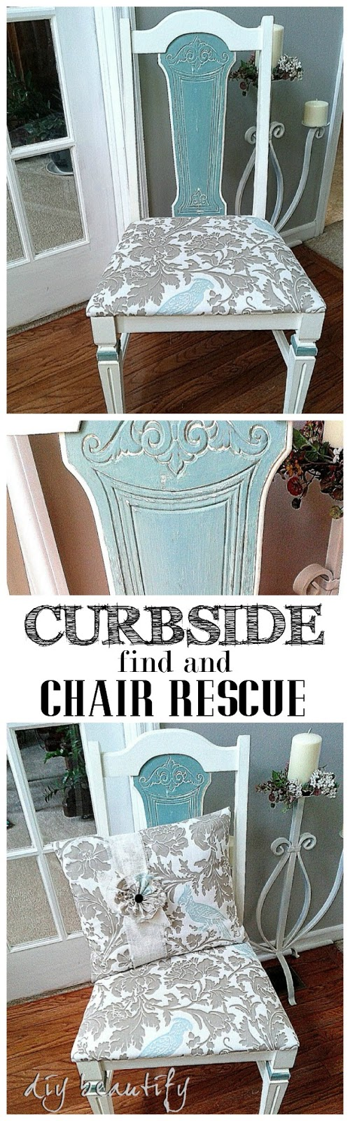 curbside chair rescue DIY beautify