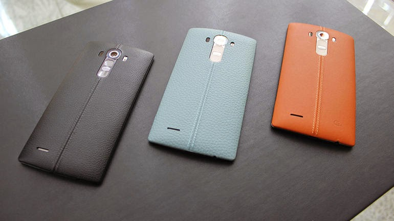 LG G4 with Leather Exterior
