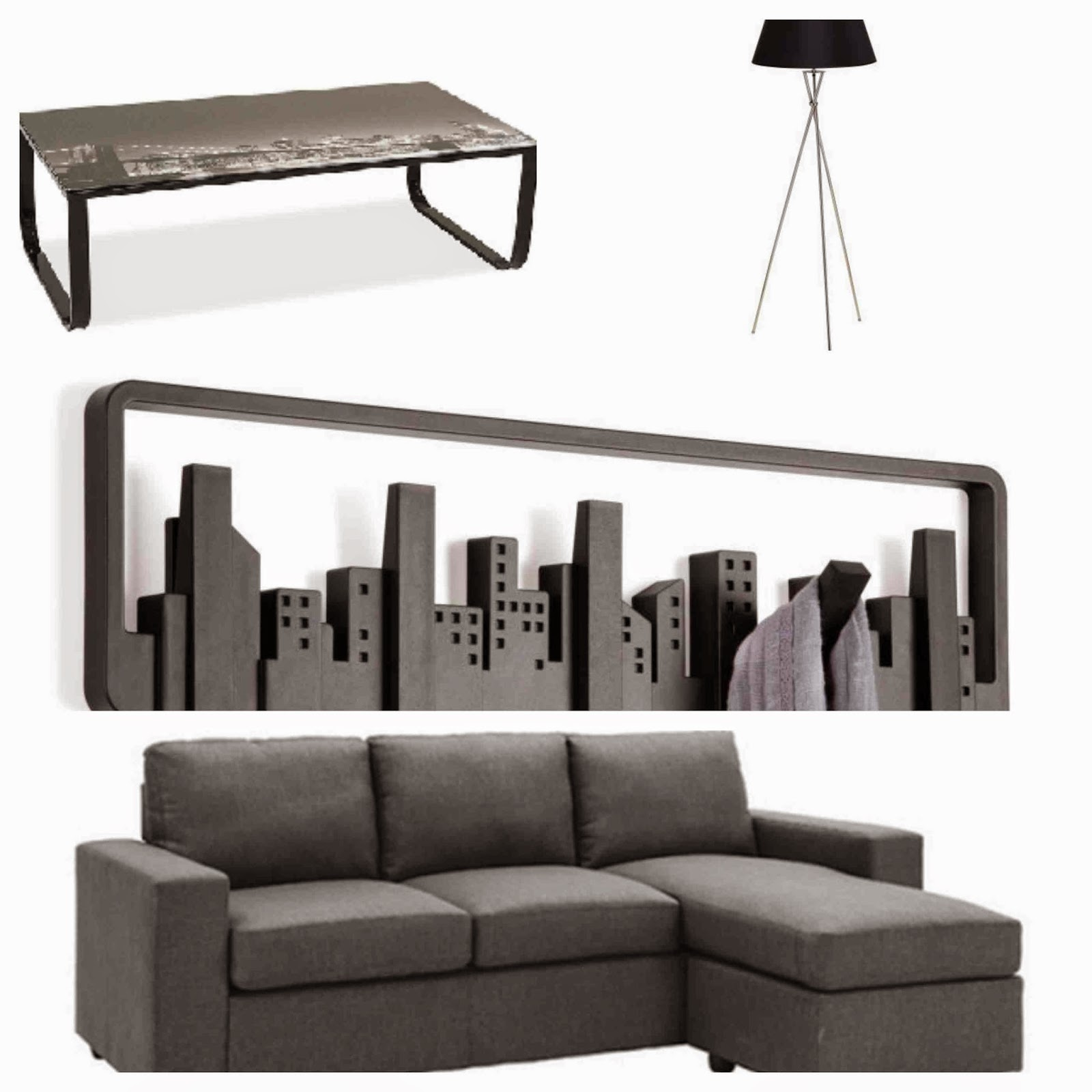 Coffee table metal legs glass top brooklyn modern grey sofa
