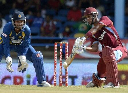 Sri Lanka vs West Indies Tri-Series 2013 Scorecard, SL vs WI Tri-series 5th match result,