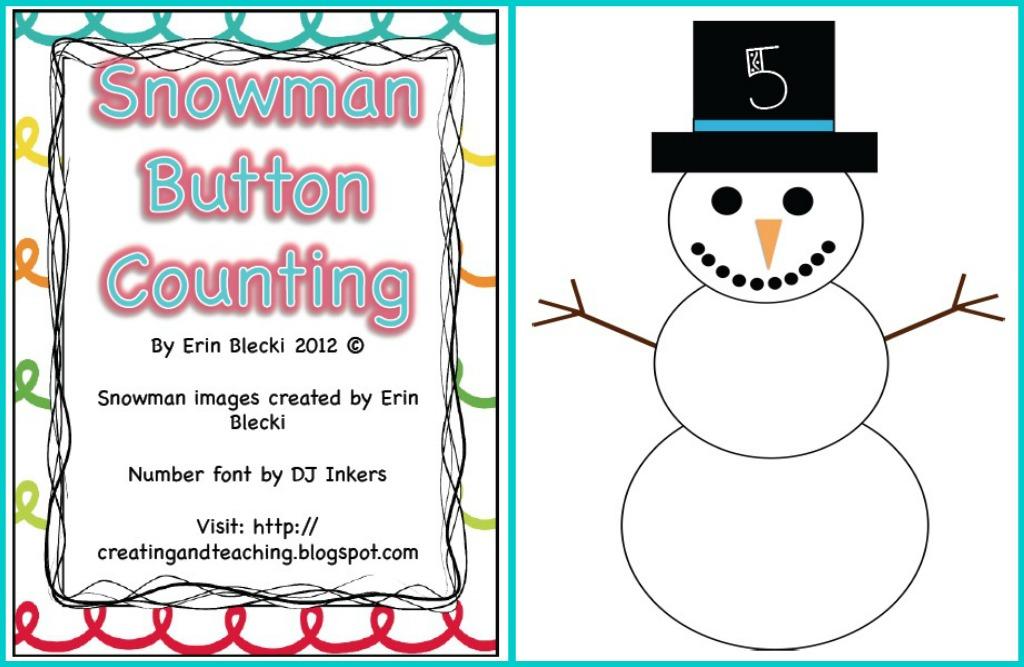 Snowman hat printable