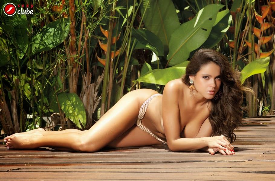 Fotos de Katherine Fontenele nua na Revista Sexy