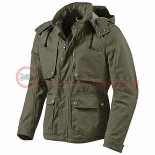 Roma giacca abbigliamento da Rev'it moto Rev'it verde Windsor w6qRIv74