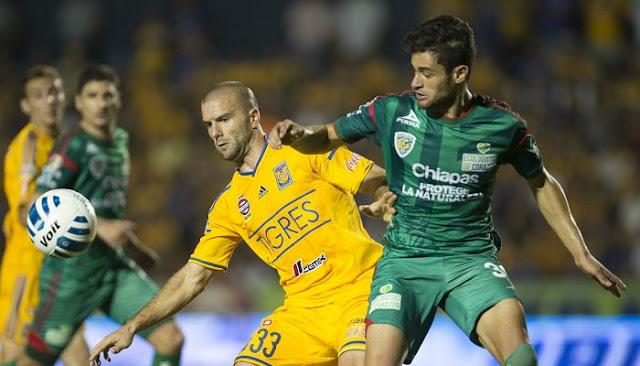 Ver partido Tigres vs Jaguares Chiapas en vivo