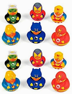 Click here to purchase your Super Hero Rubber Duck Party Favors at Amazon!