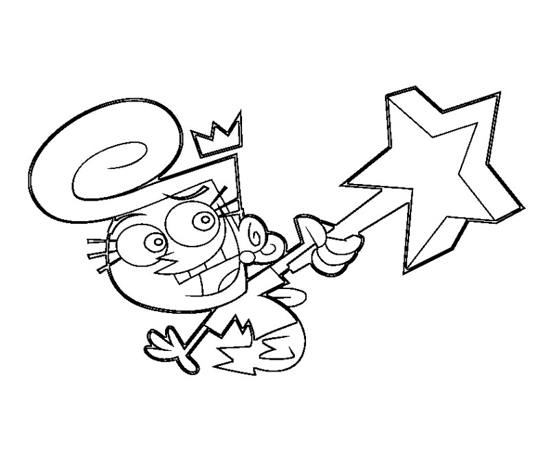 fairly oddparents printable coloring pages - photo#25
