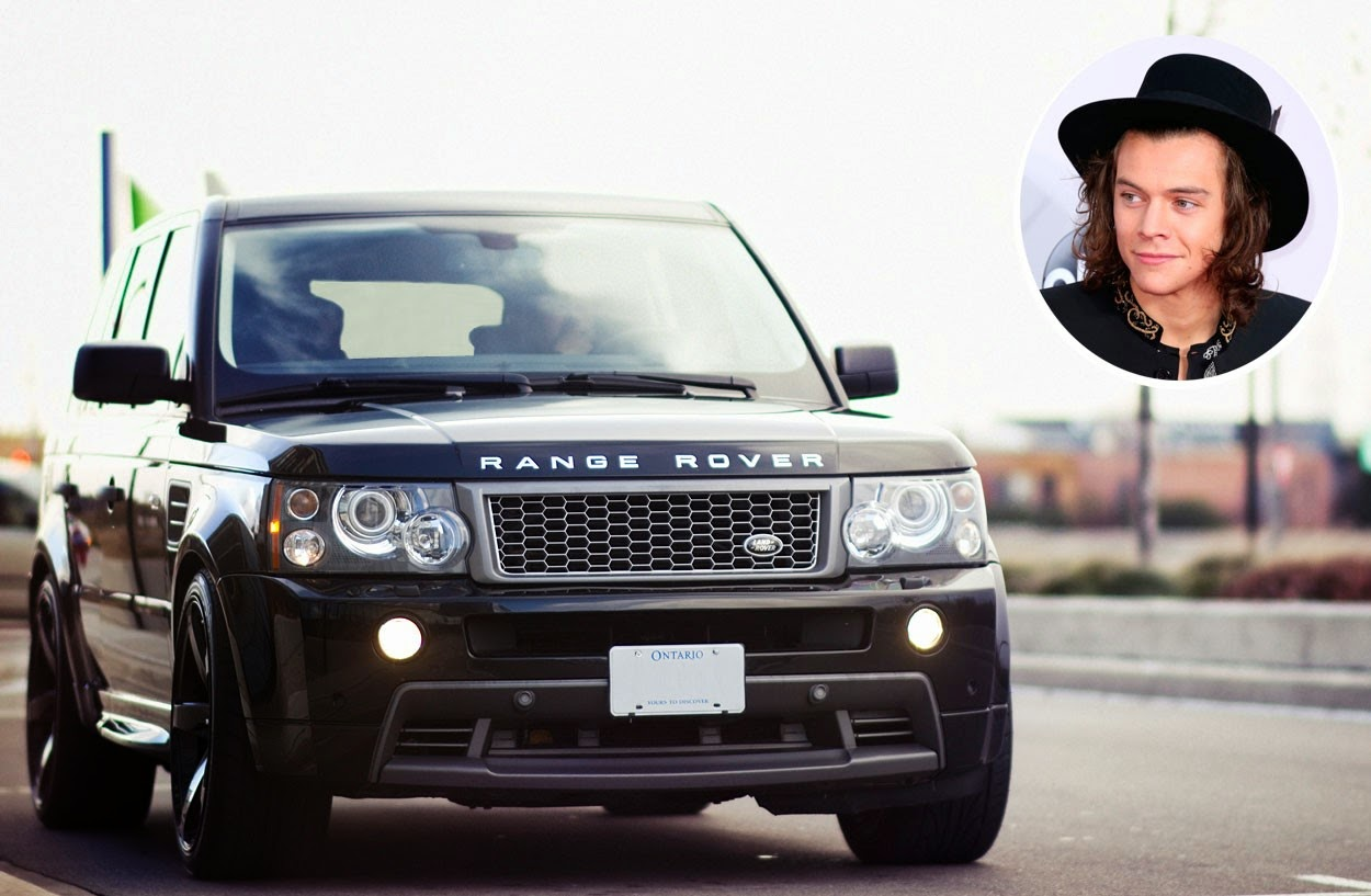Harry Styles - Range Rover Sport