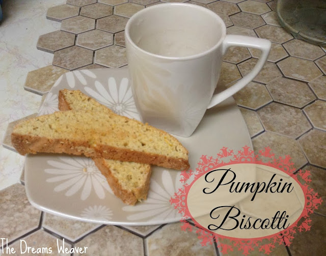 Pumpkin Biscotti~ The Dreams Weaver