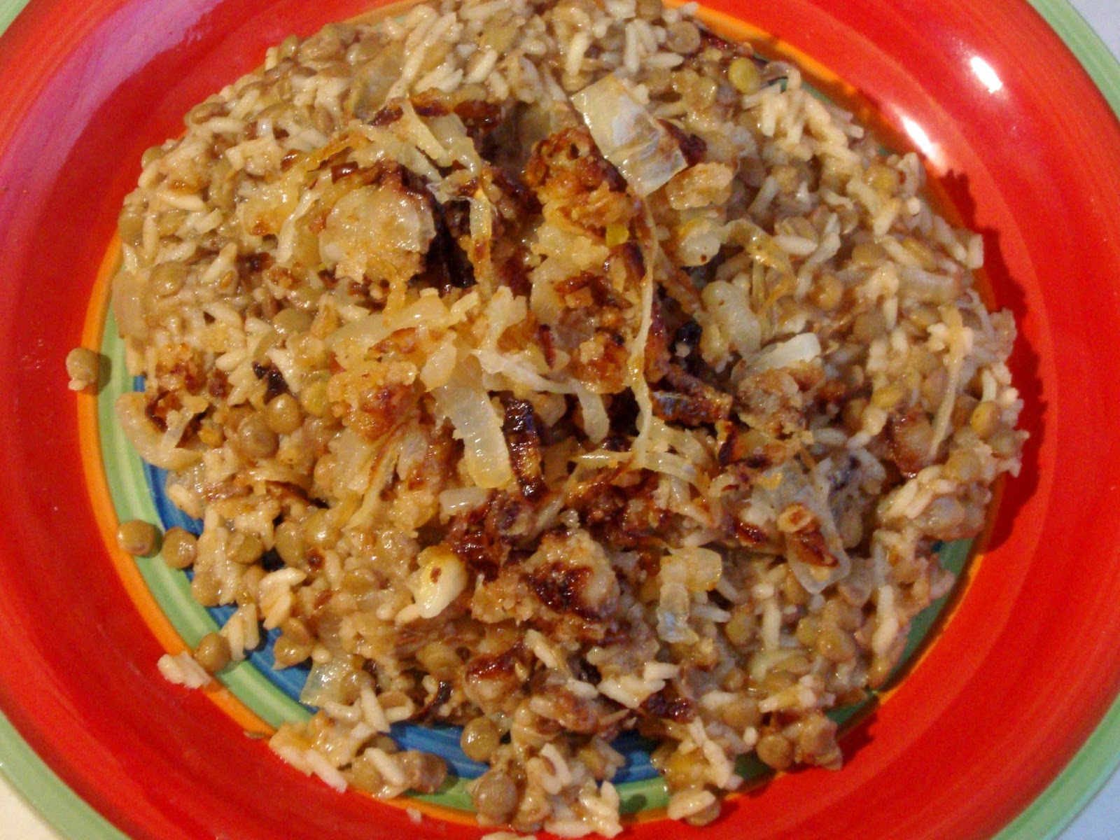 Food Floozie: Mejadra (Spiced Lentils and Rice)
