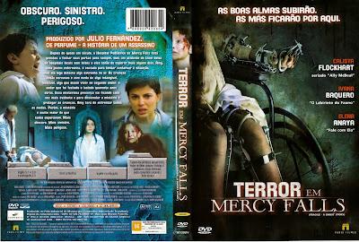 Terror em Mercy Falls DVD Capa