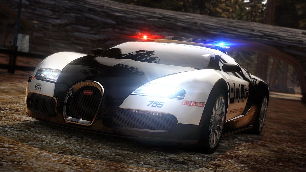 nfs bugatti veyron police car hd wallpaper wallpapers. Black Bedroom Furniture Sets. Home Design Ideas