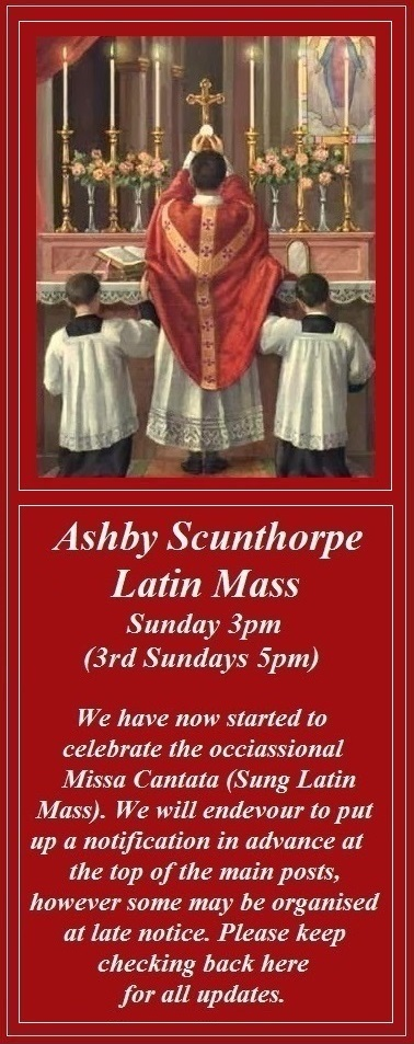 St. Bernadette's Ashby Low Mass