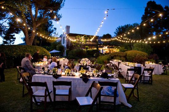 Oh mywedding junio 2013 for Decoracion fiesta jardin noche
