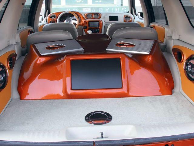Modifikasi Audio Mobil Chevrolet Trailblazer