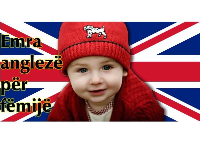 Emra angleze per femije