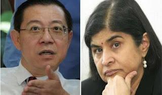 Guan Eng Persoal Kerjasama Ambiga Dan Mahathir