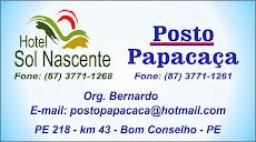 Hotel Sol Nascente e Posto Papacaça