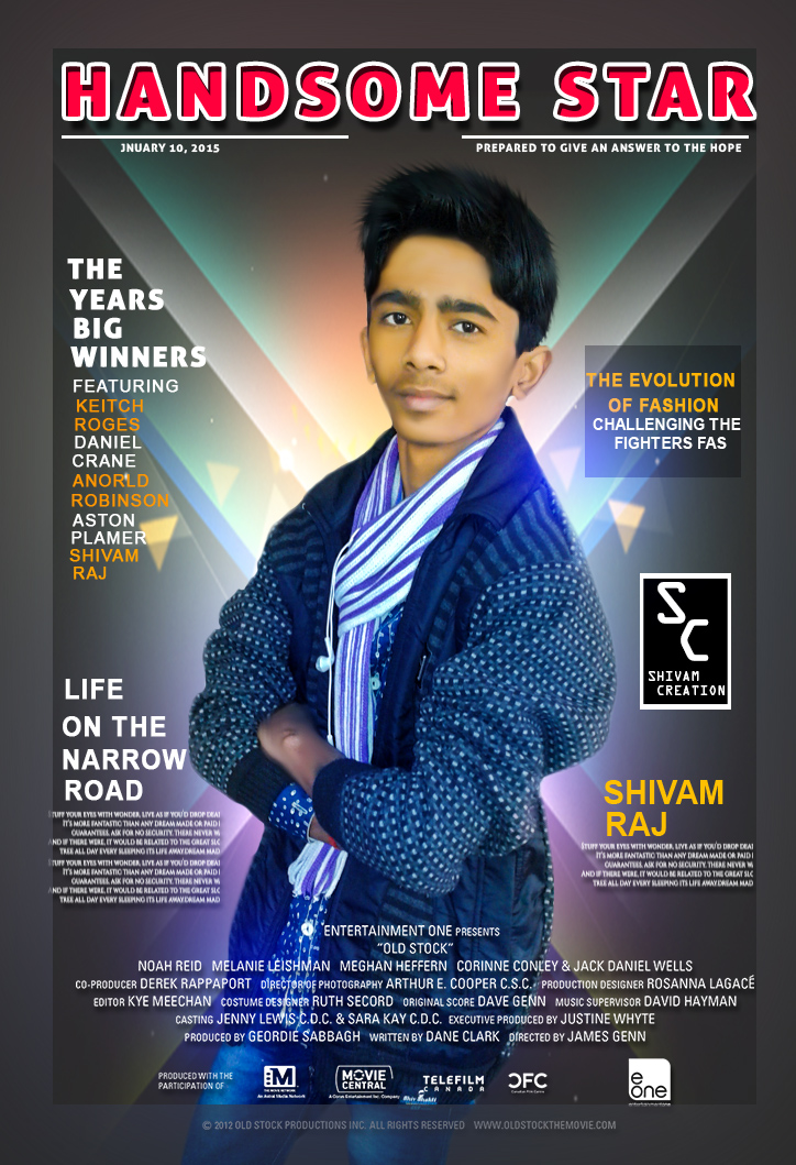 Photoshop cc magazine cover design tutorial | shivam creation