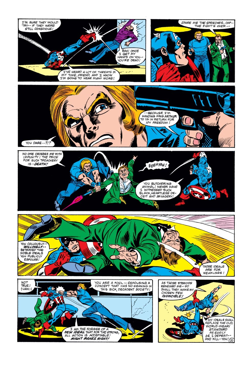 Captain America (1968) Issue #271 #187 - English 21