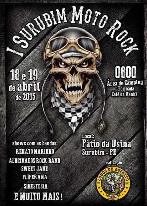 18 e 19-04-2015 - I SURUBIM MOTO ROCK - Surubim - PE