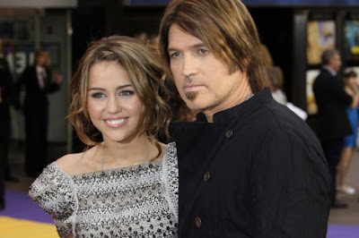Billy Ray Cyrus enfadado Hannah Montana
