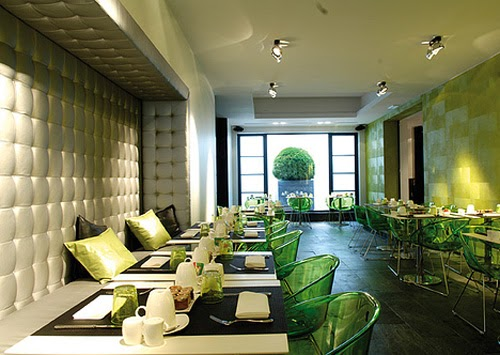 Modern restaurant interior designs for Modern hotel design