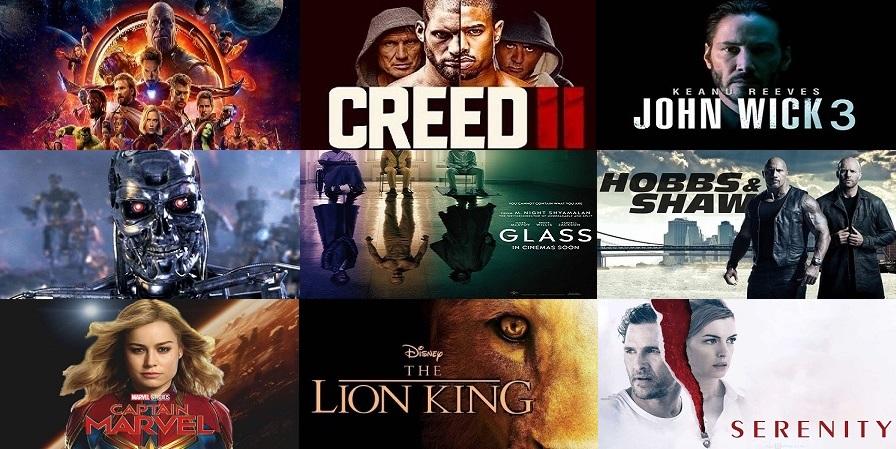 2019-es mozi naptár