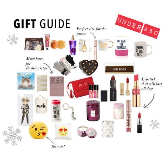 Gift guide under $50, gift guide, under 50, under $50