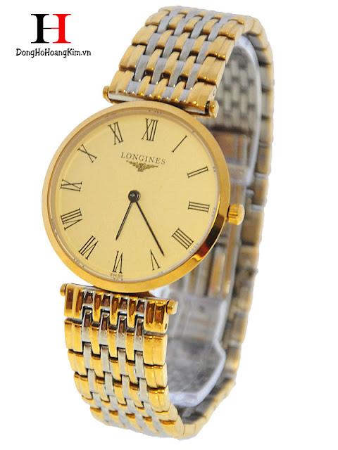 Đồng hồ nam Longines L04 với thiết kế đơn giản