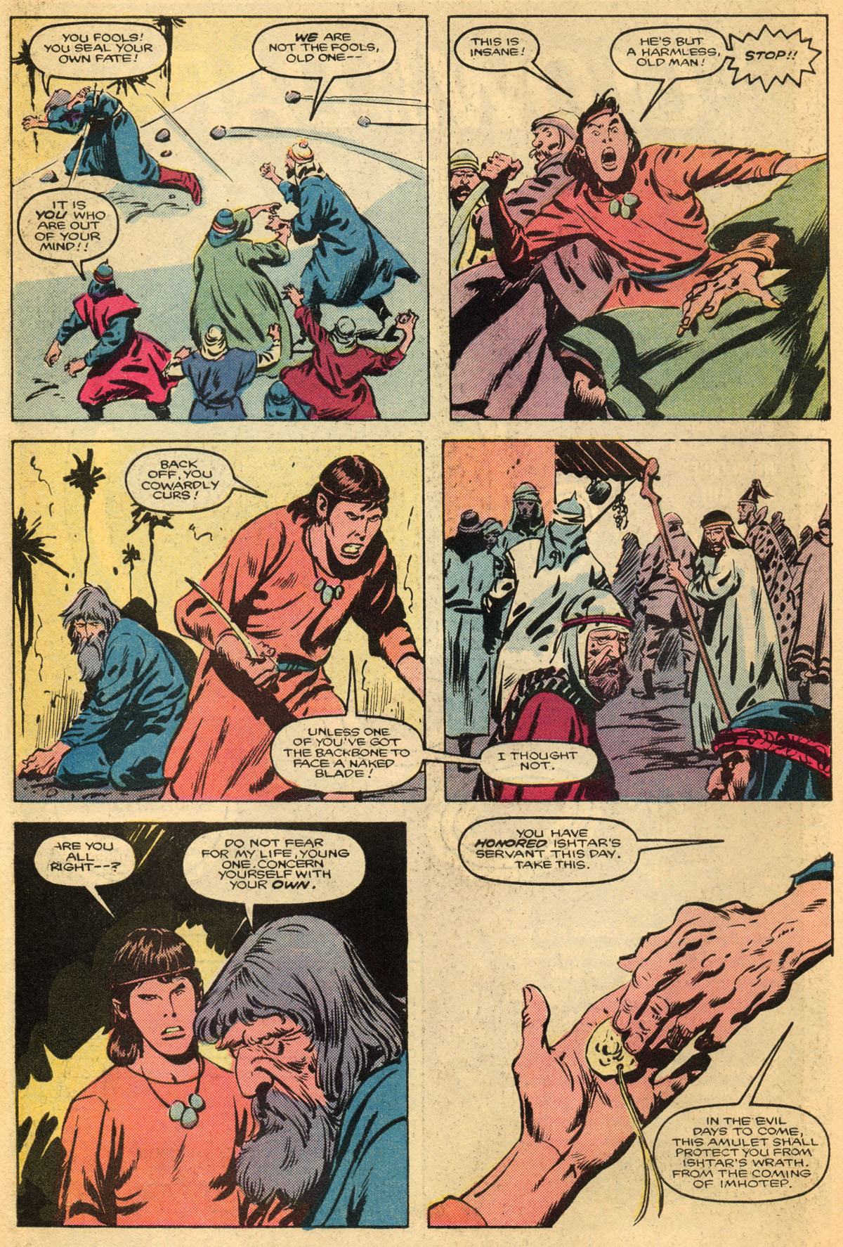 Conan the Barbarian (1970) Issue #179 #191 - English 7