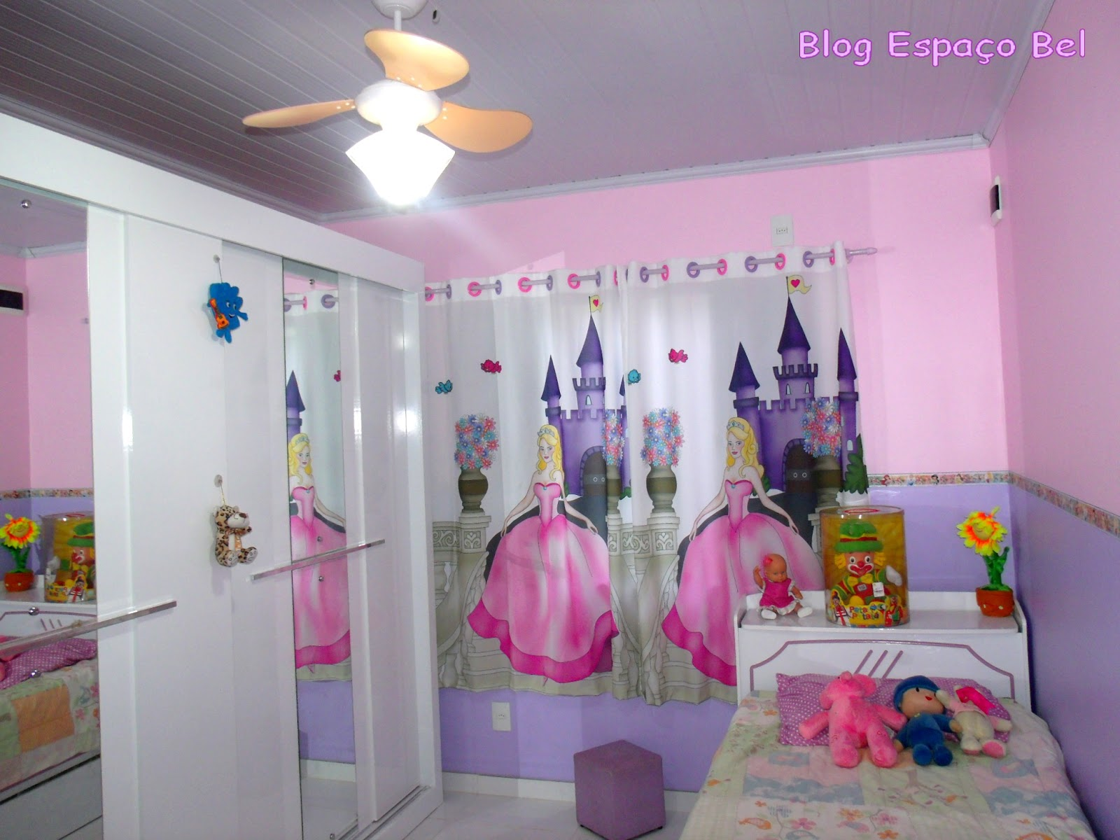 20170407094419_quarto Com Decoracao Das Princesas Beigit Com ~ Decoração Quarto Infantil Princesas