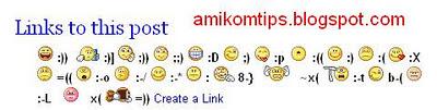 cara menambahkan emoticon pada kotak komentar blogspot