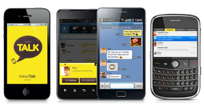 Cross-Platform Chat Application KakaoTalk for Blackberry