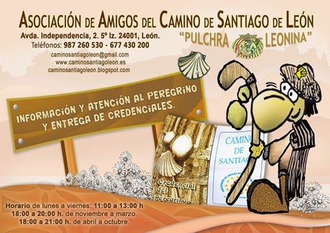 """Asociación de Amigos del Camino de Santiago de León """"Pulchra Leonina"""""""