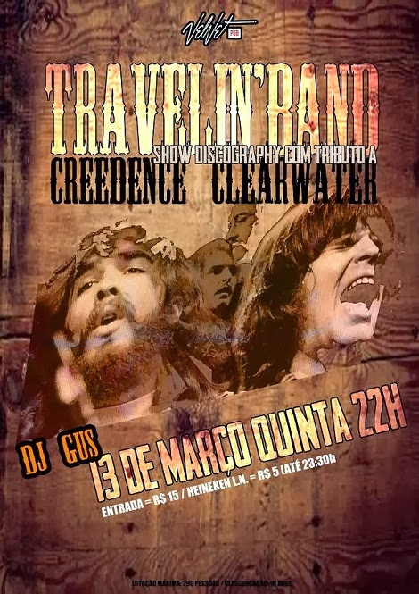 13-03-2014 - TRAVELIN´BAND - Brasília - DF