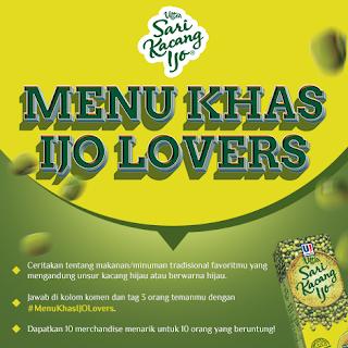 Info Kuis - Kuis Menu Khas Ijo Berhadiah Merchandise Menarik