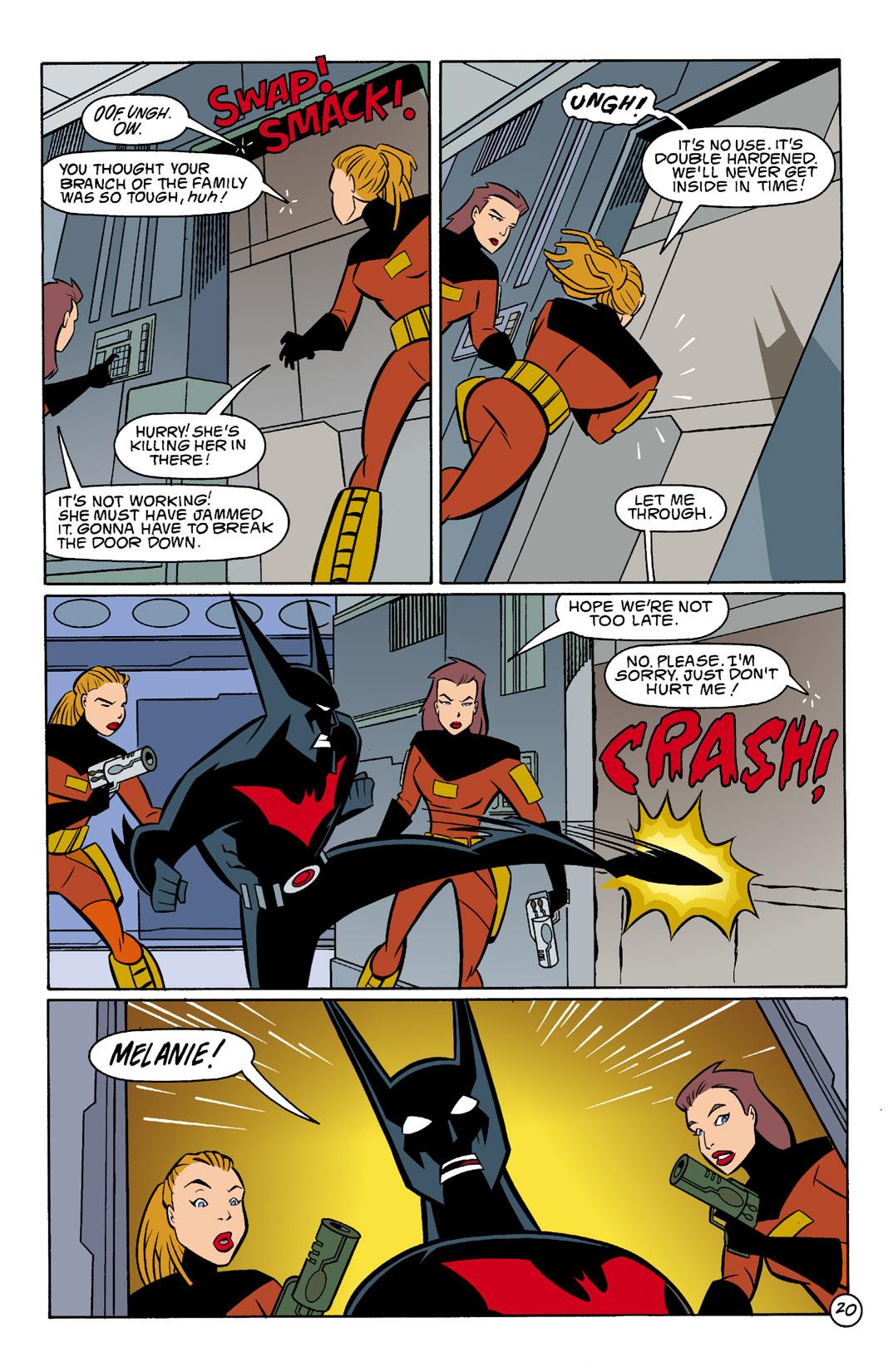 Batman Beyond [II] Issue #4 #4 - English 21
