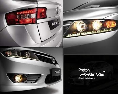2012 Proton Preve Exterior.