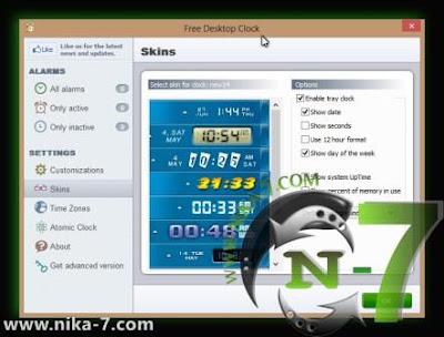 Free Desktop Clock 3.0 Full Version