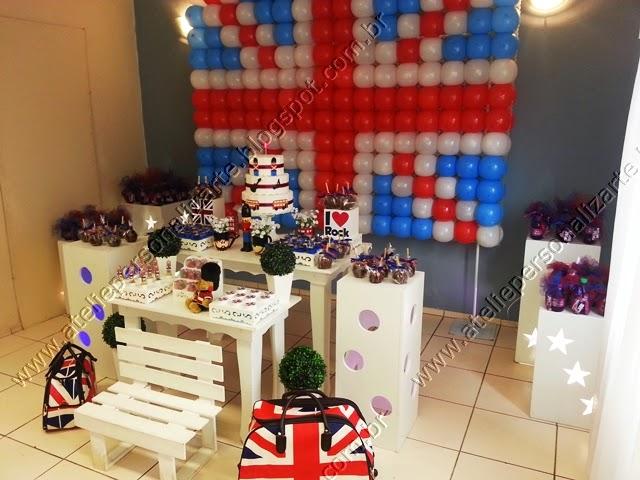 decoracao aniversario infantil provencal