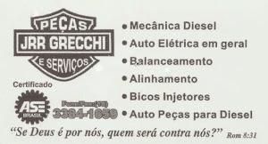 JRR GRECCHI AUTO PEÇAS E MECÂNICA DIESEL