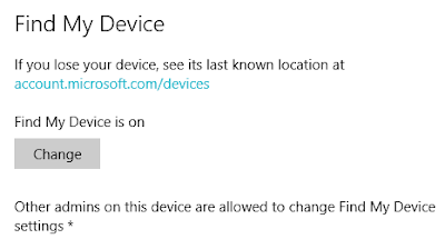 Find My Device - Windows 10 - One Cool Tip - www.onecooltip.com