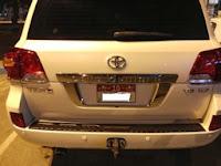 تويوتا لاندكروز 2009 vxr للبيع فى ابوظبى ابيض