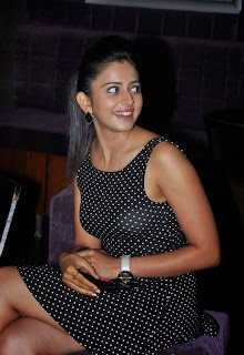 Actress Rakul Preeth Singh  Pictures in Short Dress at SS Thaman Charity Show  14.jpg