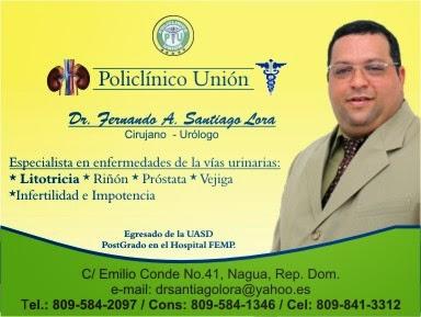 Dr. Fernando A. Santiago.