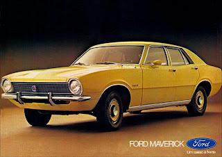 propaganda Ford Maverick - 1975. brazilian advertising cars in the 70. os anos 70. história da década de 70; Brazil in the 70s; propaganda carros anos 70; Oswaldo Hernandez;
