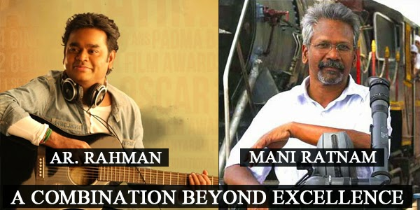 Listen to AR. Rahman And Mani Ratnam Hits on Raaga.com