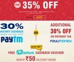 Tastykhana: Flat 40% for new users & 30% Off for old users at Tastykhana + 50% Cashback for Soth Indian States & 25% for Rest States